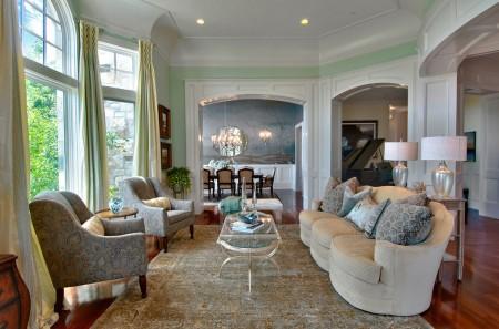 Poze Living - Interior clasic luxos