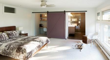 Poze Dormitor - Usa culisanta multifunctionala