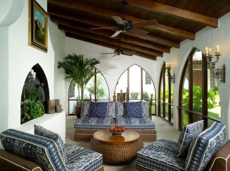 Poze Terasa - O veranda fermecatoare in stil mediteranean