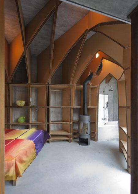 Poze Dormitor - Amestec de stiluri, industrial, gotic