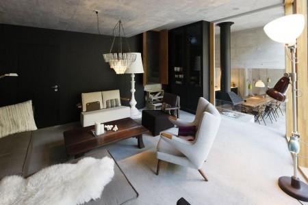 Poze Living - Decor modern, cu accente industriale