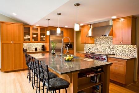 Poze Bucatarie - Imagine bucatarie Mercer Island Residence, Paul Moon Design