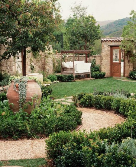Poze Gradina de flori - Gradina mediteraneana