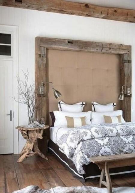 Poze Dormitor - Atmosfera rustica