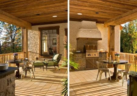 Poze Terasa - Bucatarie de vara pe terasa