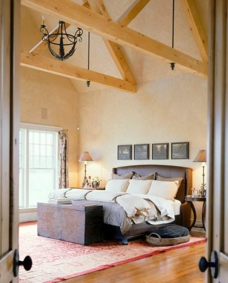 Poze Dormitor - Dormitorul rustic