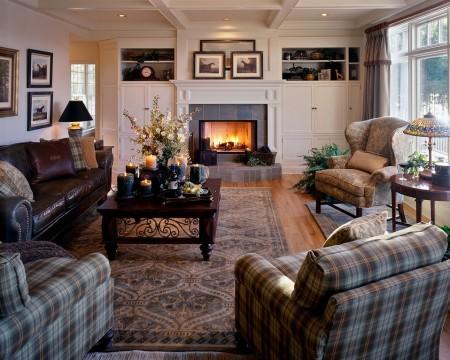 Poze Living - Decorul clasic va ramane mereu preferatul multor decoratori si proprietari de locuinte