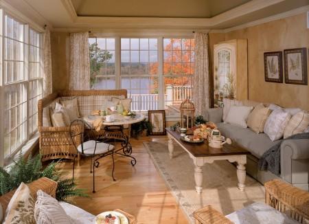 Poze Living - Living clasic cu o priveliste superba