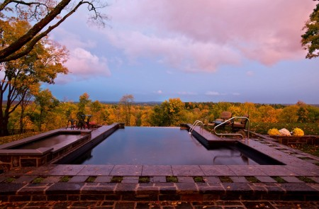 Poze Piscina - Panorama de vis din piscina