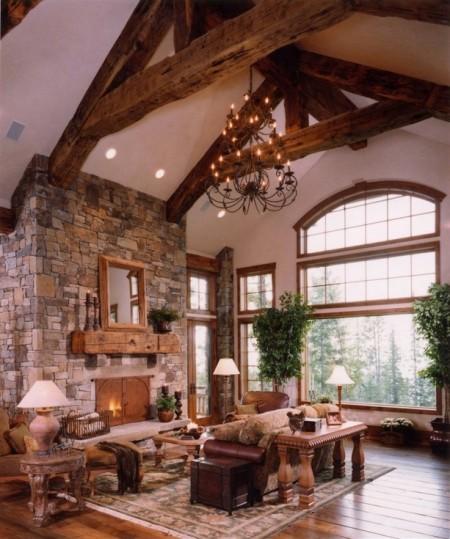 Poze Living - Living spatios intr-o casa de vacanta montana
