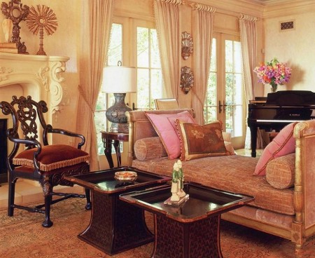 Decor clasic in living - Wendi Young Design