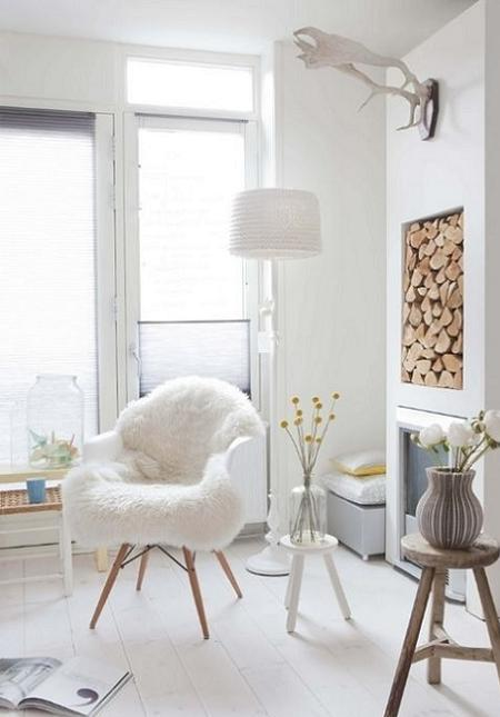 Decor realizat in stil nordic