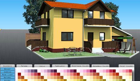 Simulator culoare fatada casa