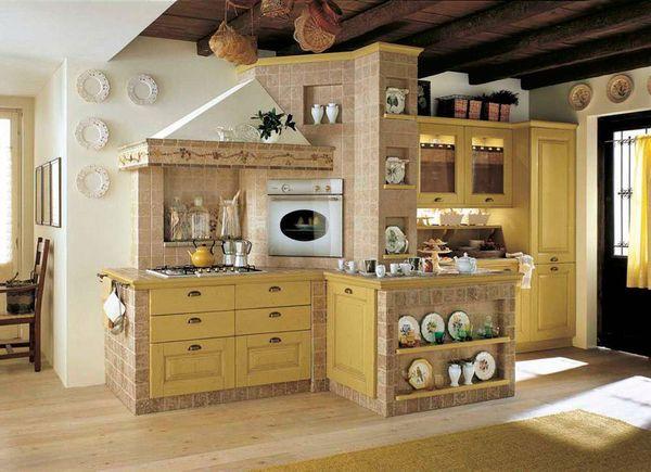Cum utilezi o bucatarie rustica 10 propuneri cu efect - Mondo convenienza cucine in muratura ...