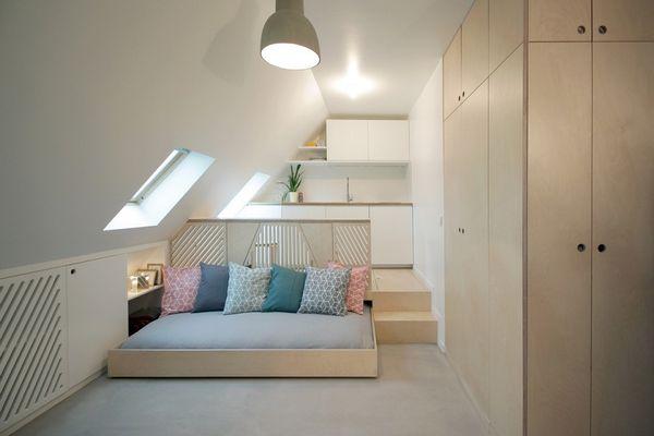 Garsoniera ieftina, de doar 22 mp, transformata intr-o locuinta frumoasa si confortabila!