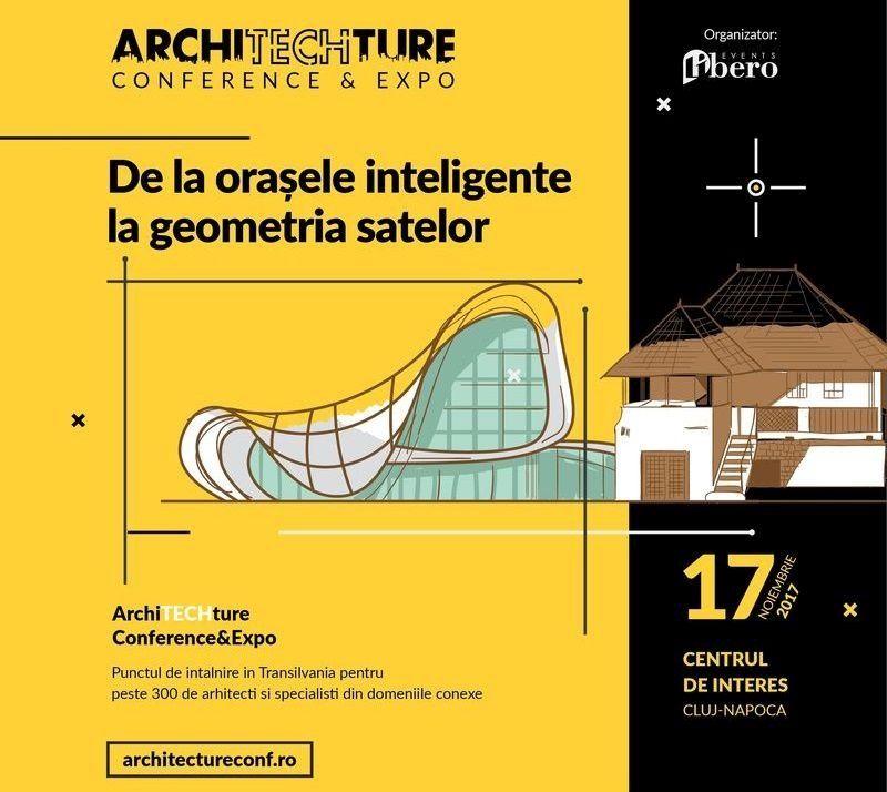 Primii speakeri la ArchiTECHture Conference&Expo 2017