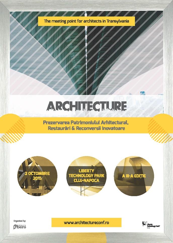 Incep inscrierile la architecture conference expo Architecture si
