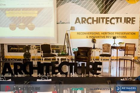 Peste 300 de arhitecti vor participa in aceasta vineri la Architecture Conference&Expo, cel mai mare eveniment de arhitectura din Transilvania
