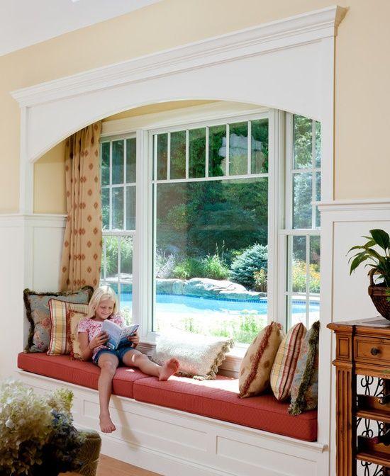 Bancuta fereastra lectura copil