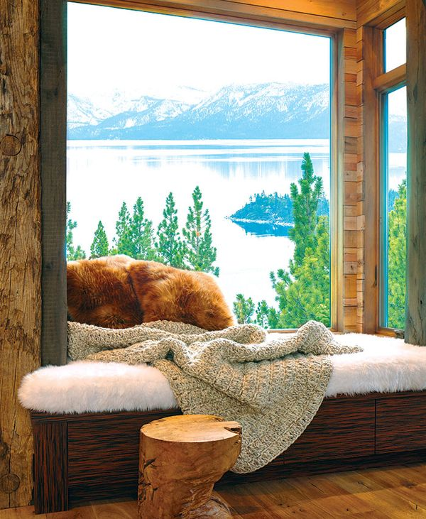 Bancuta lemn fereastra