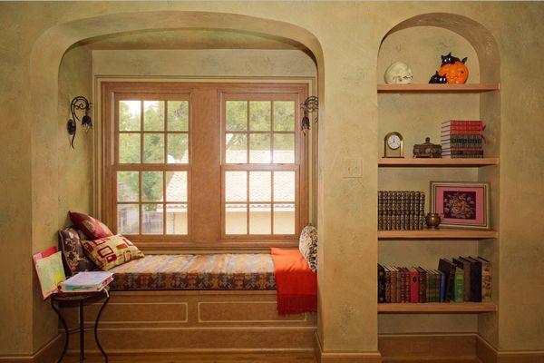 Bancuta fereastra biblioteca
