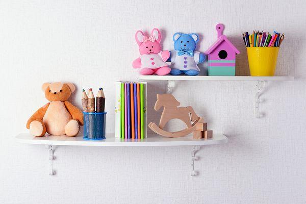 Cum sa optimizezi camera copilului cu biblioteci de perete