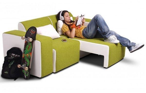 Canapea extensibila camera tineret Lego