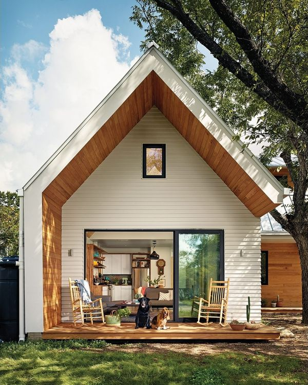 Casa cu 3 dormitoare, construita cu respect fata de natura - imagini si proiect