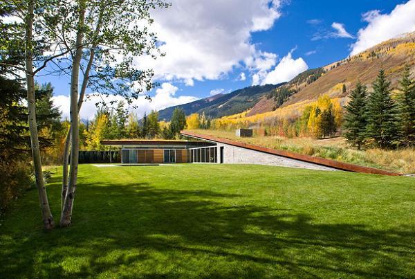 Iarba Verde De Pe Casa Sau Cum Poate Fi O Constructie