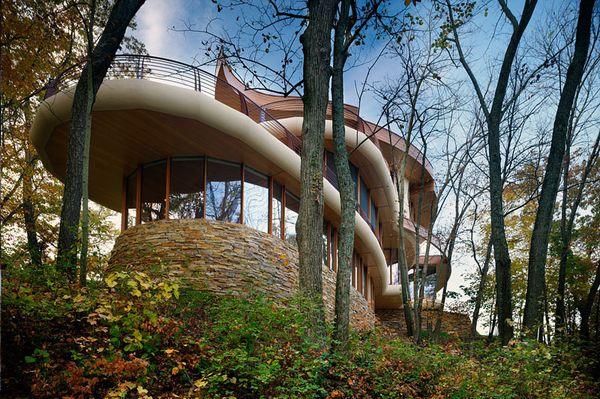 Fatada casa arhitectura moderna