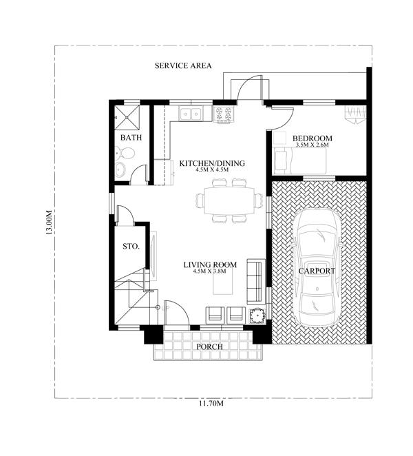 casa cu etaj pe un teren ingust - proiect parter.jpg