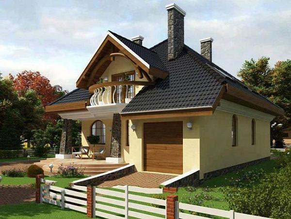 Proiecte de case cu garaj incorporat. Modele deosebite de case cu garaj