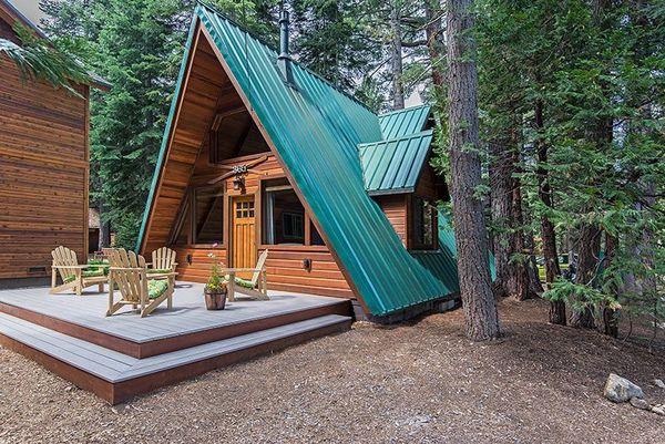 Casa mica lemn forma A