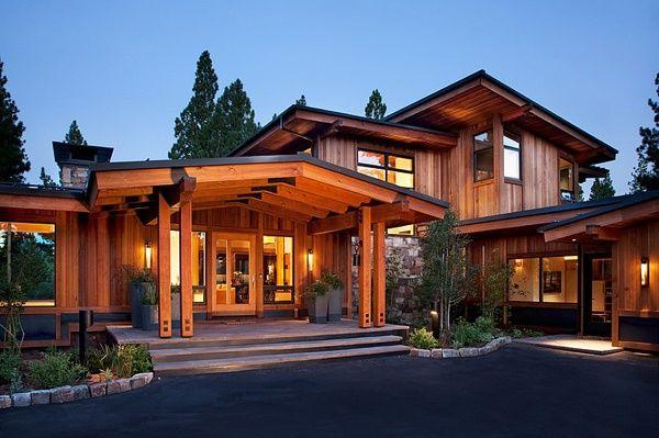 Case moderne spectaculoase construite cu materiale for Archi in casa moderna