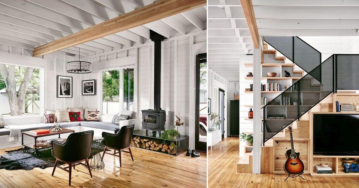 Design modern intr-o casa din lemn construita sa dainuiasca 500 de ani