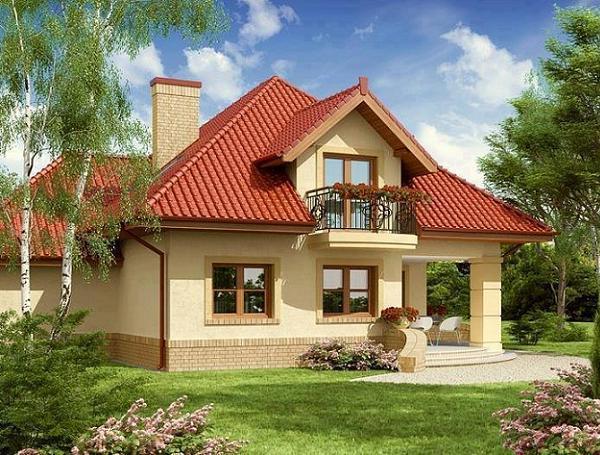 Proiecte de case cu lucarne. Mansarde cu personalitate pentru case mai frumoase