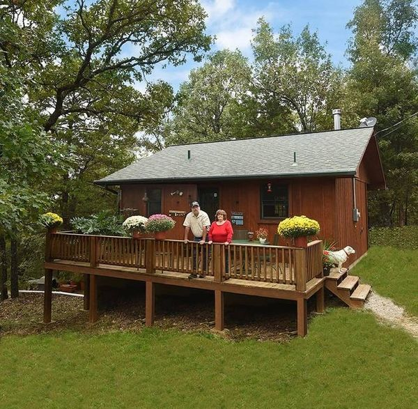 Case mici cu gradina, fara etaj, perfecte pentru pensionari - proiecte si imagini