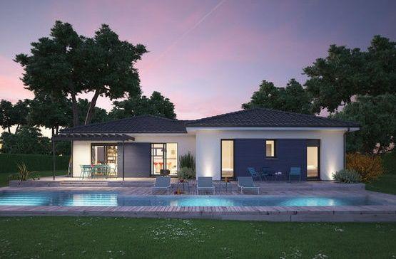 Case moderne, fara etaj, cu piscina si 1 pana la 4 dormitoare. Proiecte pentru toate buzunarele.