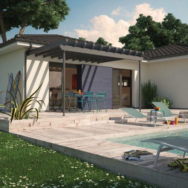 Case moderne fara etaj cu piscina si 1 pana la 4 for Amenajari piscine exterioare