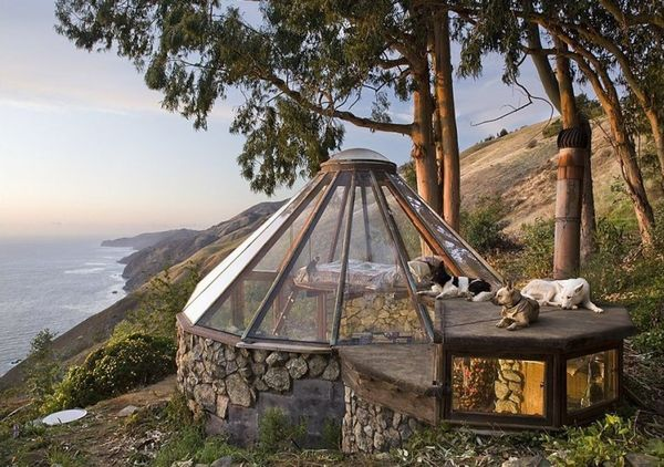 Case ecologice: casa solara semi-ingropata - Galerie foto