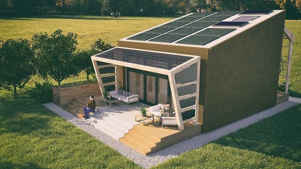 Casa pasiva solara Over4 va fi deschisa publicului in centrul Bucurestiului