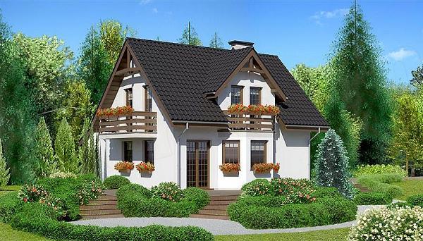 Proiecte de case mici si ieftine de 120 de metri patrati for Proiecte case cu garaj