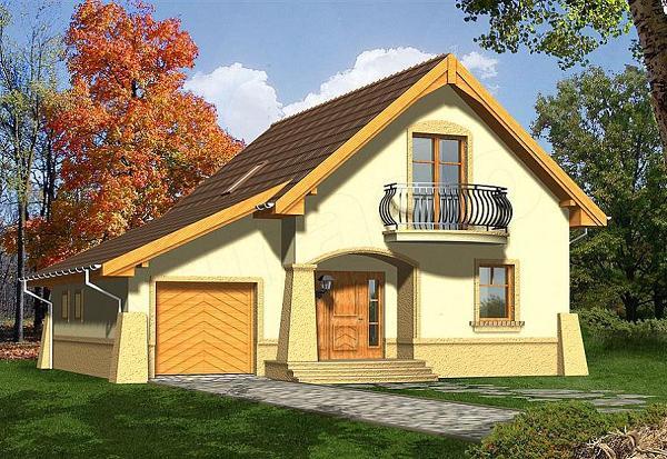 Proiecte de case mici si ieftine de 120 de metri patrati for Proiecte case cu garaj si mansarda