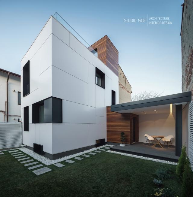 Transformarea uluitoare a unei ruine bucurestene un tanar for Case minimaliste moderne
