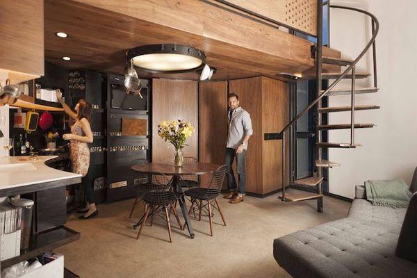 Interior casa siloz