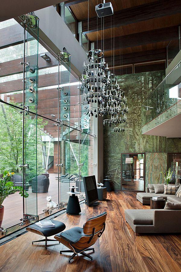 O casa spectaculoasa care invita natura inauntru