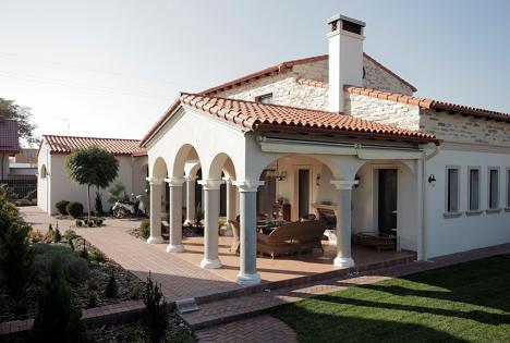 Casa Stil Toscan Timisoara Proiect Parter