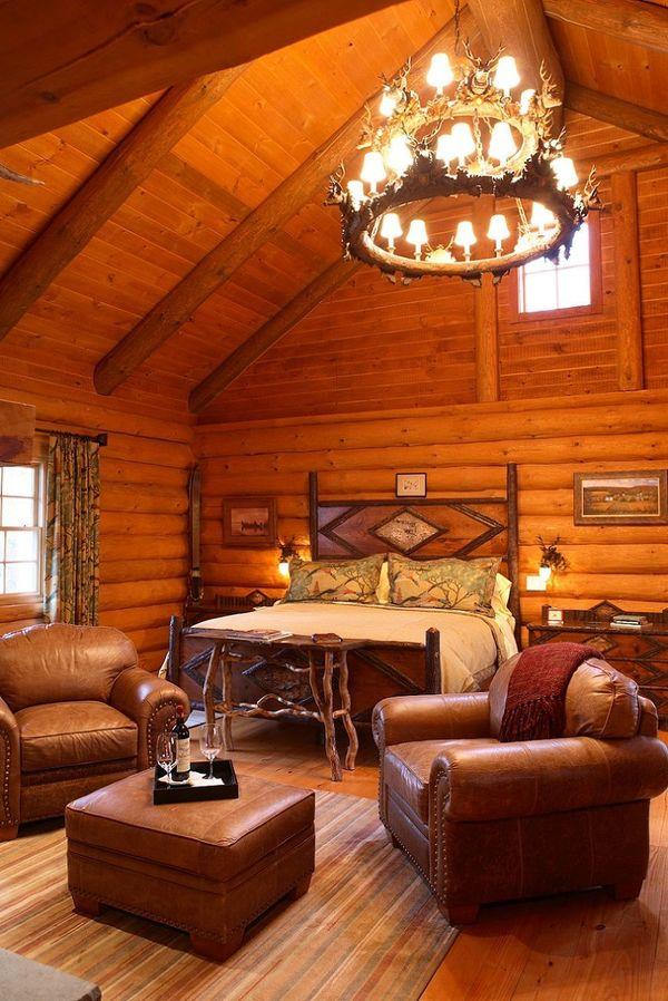 Dormitor casa copaci