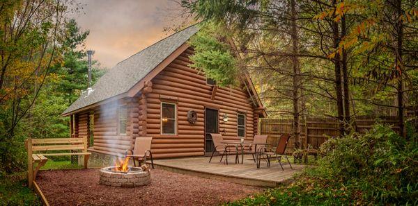 Casa vacanta lemn rotund