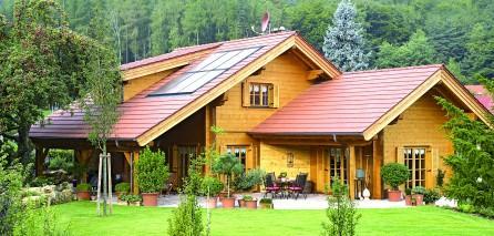 Casele din lemn sunt acum eco